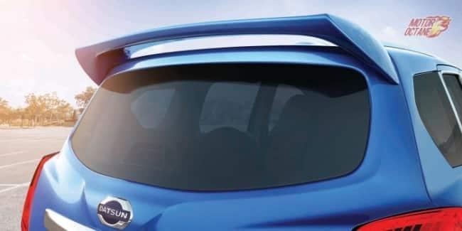 Datsun Go+ spoiler