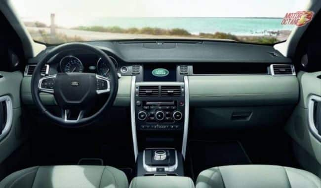 Discovery Sport interiors