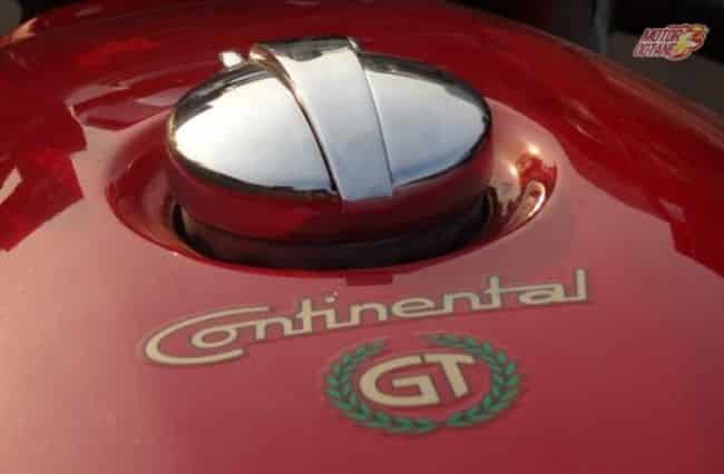 Royal Enfield Continental GT tank