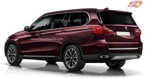 BMW X7 rear