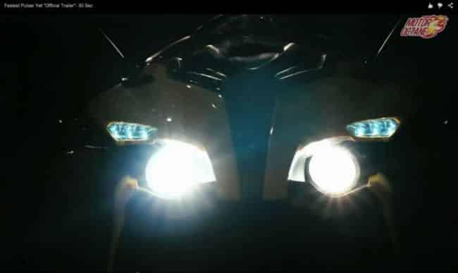 Bajaj Pulsar RS200 headlamp