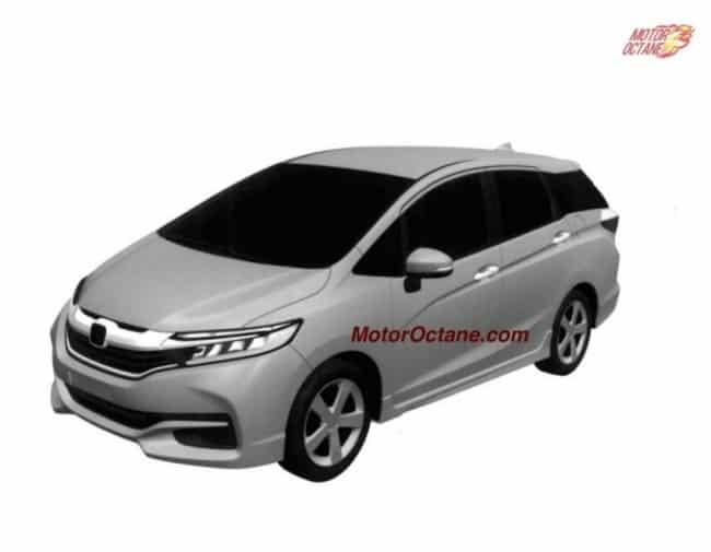 Next Gen Honda Fit Jazz Shuttle Official Renderings