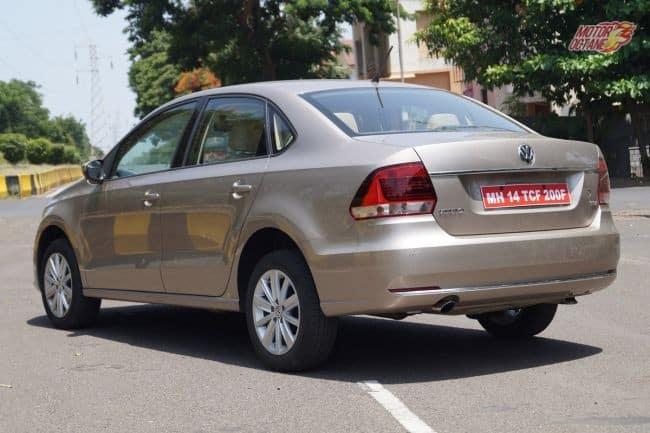 Volkswagen Vento rear