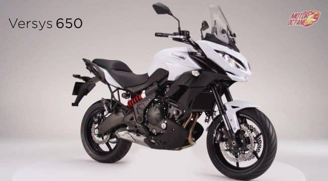 Kawasaki Versys 650 showcased in Thailand