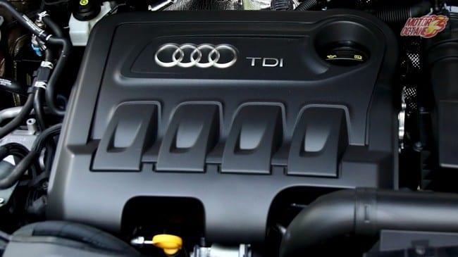 2017 Audi Q3 engine