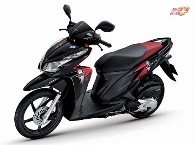 Honda trademarks Click 125i design for India -EXCLUSIVE » MotorOctane