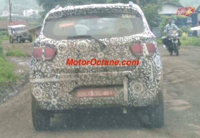 Mahindra KUV100 on road