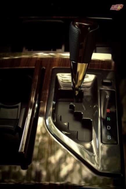 Camry Hybrid - CVT Controls