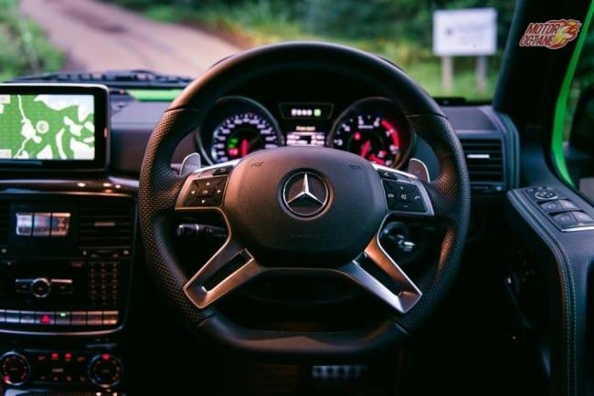 Mercedes-Benz G63 AMG steering