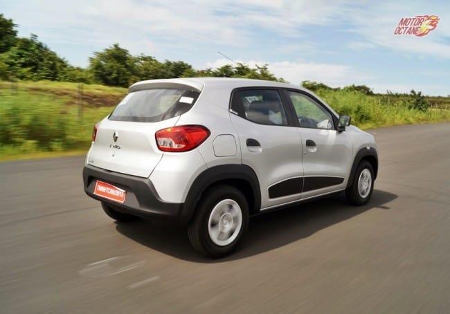 Renault Kwid motion shot