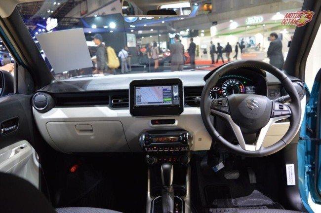 Maruti Suzuki-Ignis-dash-at-2015-Tokyo-Motor-Show-1024x681