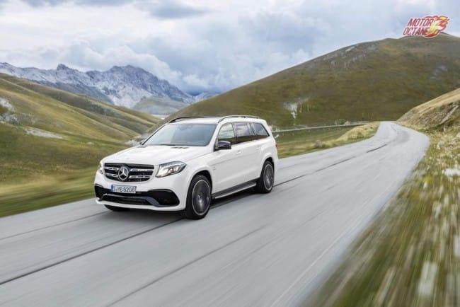 Mercedes-AMG GLS 63 4MATIC, Exterieur: designo diamantwei? bright exterior: designo diamond white bright