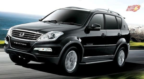 2016 Ssangyong Rexton To Get New Train