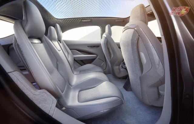 Jaguar I-PACE rear seat space