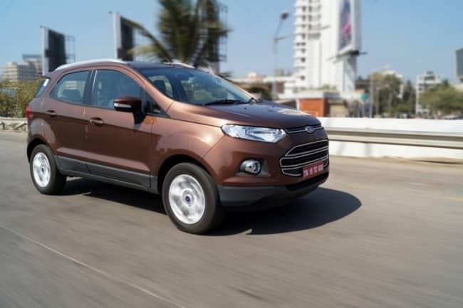 Ford Ecosport facelift motion