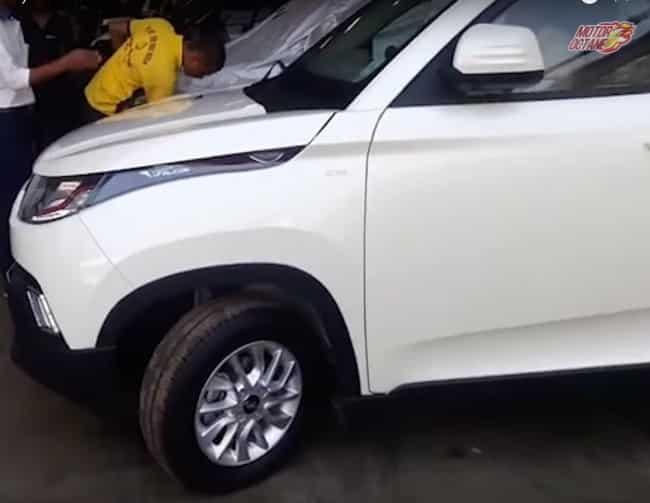 Mahindra KUV100 fully revealed ahead of launch
