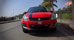 Maruti Swift front
