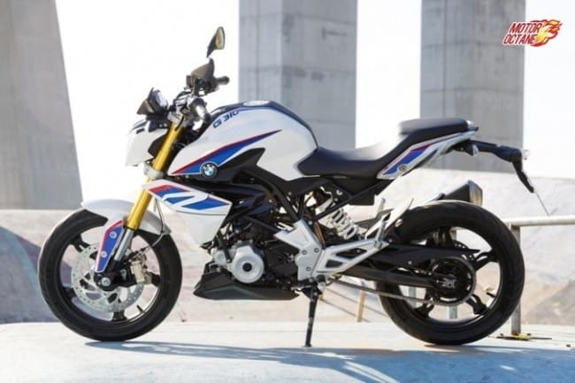 BMW G310R side profile