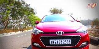 Hyundai Elite i20 2017 front