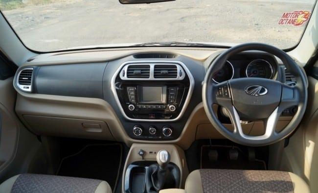 Mahindra TUV300 interior