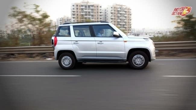 Mahindra TUV300 motion