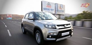 Vitara Brezza in motion