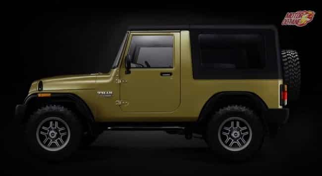 Mahindra Thar 2018 Price In India Launch Features
