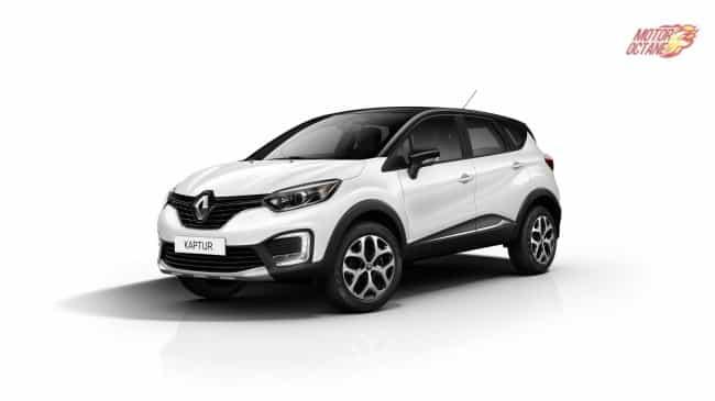 Renault Captur India front