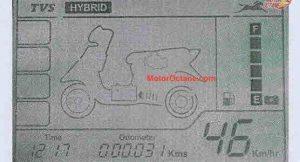 TVS hybrid scooter