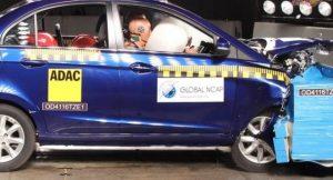 Tata Zest crash test