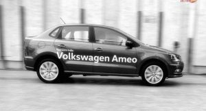 Volkswagen Ameo motion side