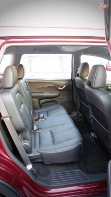 Honda BRV rear seat space