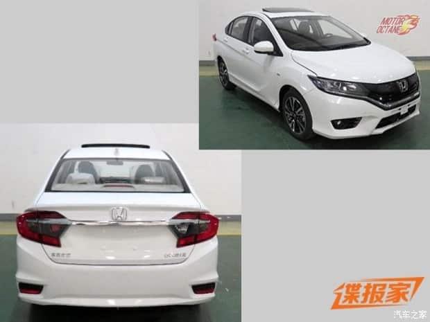 Honda City facelift side profile