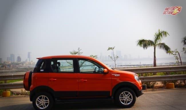 Mahindra Nuvosport side