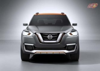 Nissan Kicks SUV front