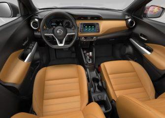 Nissan Kicks SUV dashboard