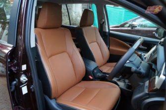 Toyota Innova Crysta front seats