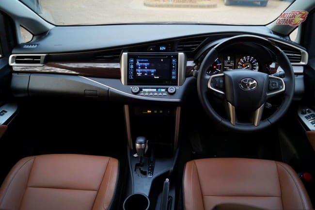 Toyota Innova Crysta interior 1