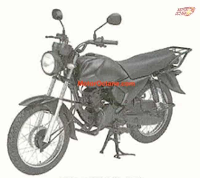 Yamaha 100cc bike