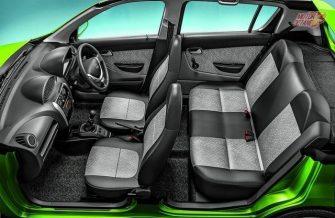 2016 Maruti Alto 800 facelift interior