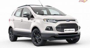 Ford EcoSport Black Edition price