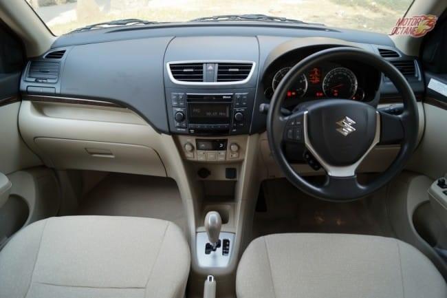 Maruti-DZire-AMT-interior