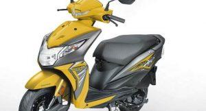 New Honda Dio 2017 - Yellow