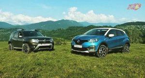Renault Captur vs Renault Duster