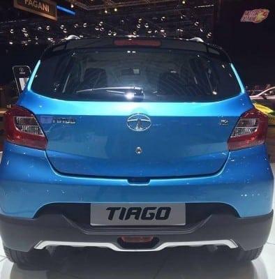Tata Tiago Aktiv rear