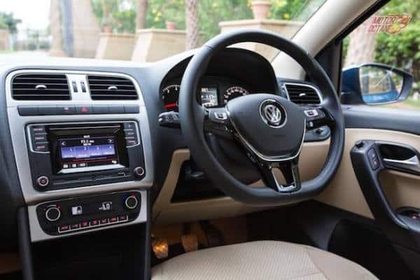 Volkswagen Amero interior