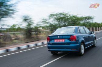 Volkswagen Ameo rear