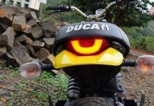 Ducati Scrambler taillamp