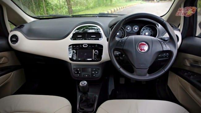 Fiat Linea 125S interior