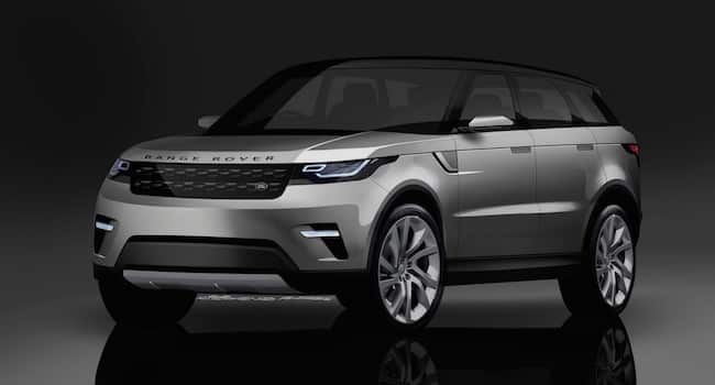 Range Rover Coupe front